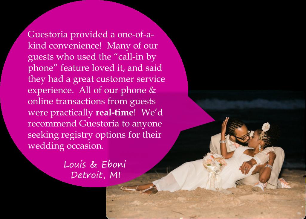 Wedding Gift Registry Website: Cash Gift Wedding Registry (Official Site